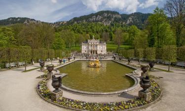 Hotels near Linderhof Palace