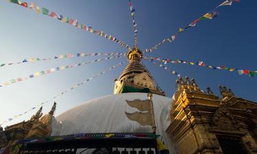Hotels near Swayambhu