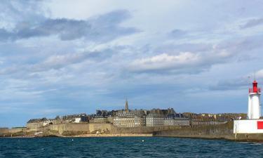 Remparts de Saint-Malo – hotely poblíž