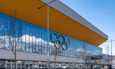 Olympiahalle Innsbruck: Hotels in der Nähe