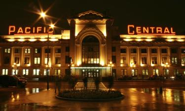 Hotels near Pacific Central Station
