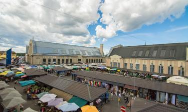 Hotels near Riga Central Market