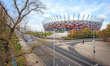 Національний стадіон у Варшаві: готелі поблизу