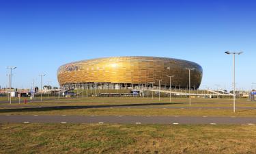 Hotele w pobliżu miejsca Stadion Energa Gdańsk