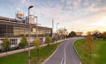 Messe Düsseldorf: Hotels in der Nähe