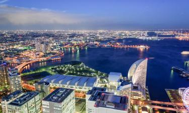 Viesnīcas netālu no apskates objekta sanāksmju centrs Pacifico Yokohama