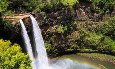 Hotels near Wailua Falls