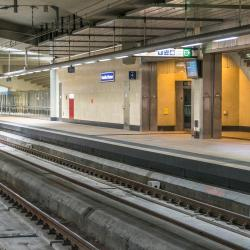 Brussels Schuman Train Station