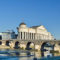 Pont de pierre, Skopje