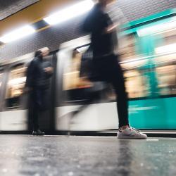 Edgar Quinet Metro Station