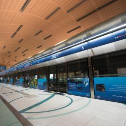 GGICO Al Garhoud Metro Station