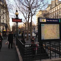 Rue des Boulets Metro Station