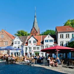 Gågaden i Flensburg