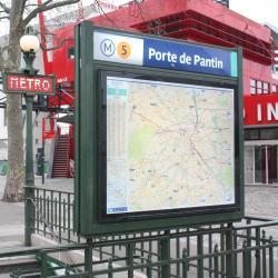 Σταθμός Μετρό Porte de Pantin