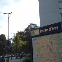 Porte d'Ivry Metro Station
