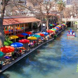 Deptak River Walk, San Antonio