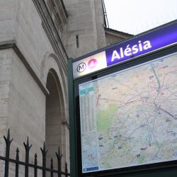 Alésia Metro Station