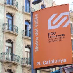 Gare FGC - Place de Catalogne