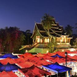 Night Market, ルアンパバーン
