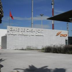 Casa Port Train Station