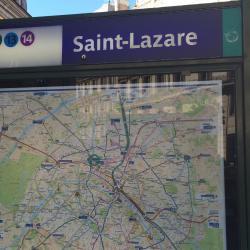Saint-Lazare Metro Station