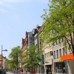 Shopping area Breite Gasse