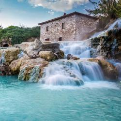 termālie avoti Cascate del Mulino