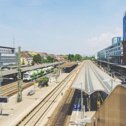 Freiburg Central Station