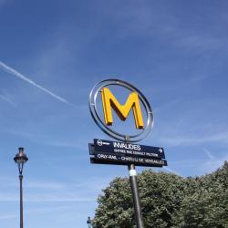 Invalides Metro Station
