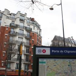 Estación de metro Porte de Clignancourt