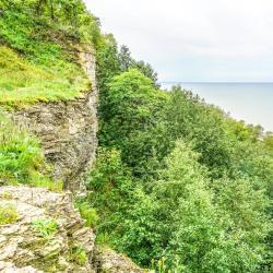 Ontika Limestone cliff, Kohtla-Järve
