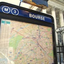 Bourse Metro Station