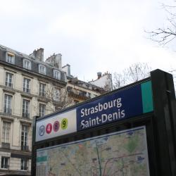 Σταθμός Μετρό Strasbourg Saint-Denis