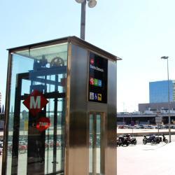Metrostation Sants Estació