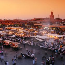 Djemaa el-Fna -aukio, Marrakech