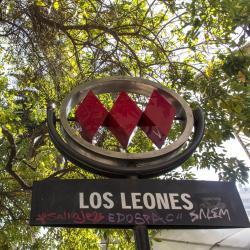 Estación de metro Los Leones