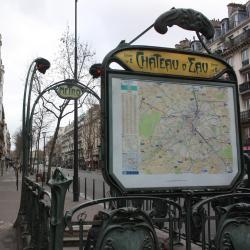Σταθμός Μετρό Chateau d'Eau