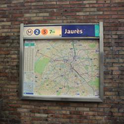 Σταθμός Μετρό Jaures