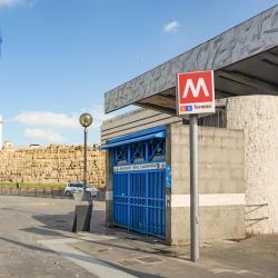 Rome Termini Metro Station