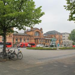 Main station Schwerin