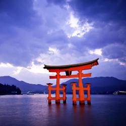 Itsukushima pühamu, Itsukushima