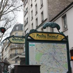 Mouton Duvernet Metro Station