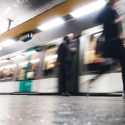 Riquet Metro Station