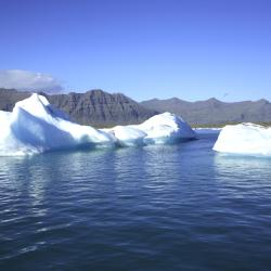 Gletscherlagune Jökulsárlón, Hali