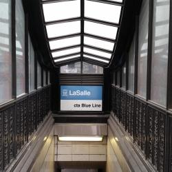 "LaSalle ""L"" Station (Blue Line)"