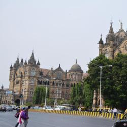 Chhatrapati Shivaji Terminus Train Station