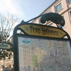 Σταθμός Μετρό Pere Lachaise