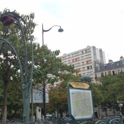 Place d'Italie Metro Station