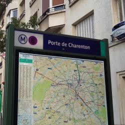 Porte de Charenton Metro Station