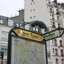 Σταθμός Μετρό Louis Blanc